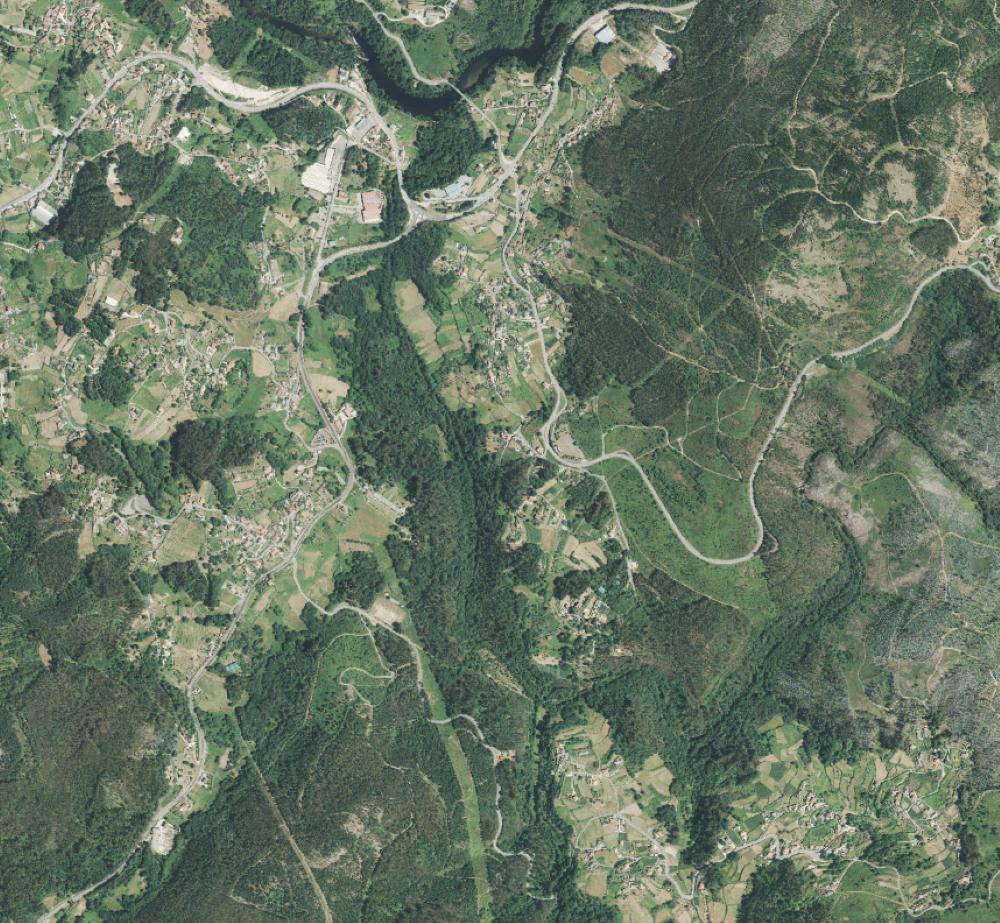 Foto satélite de Bora