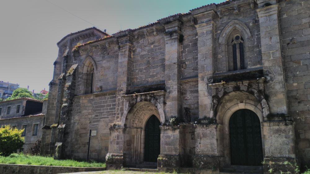 Imaxe da fachada da Igrexa do Convento