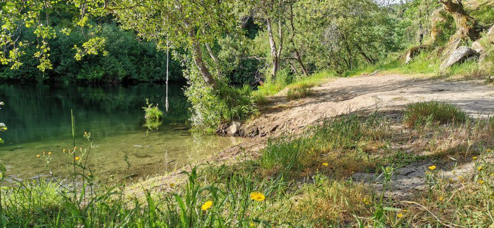 Praia fluvial Calvelo